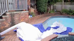 Backyard Blow Up Pools by Apple Pools Blow Up Tent Youtube
