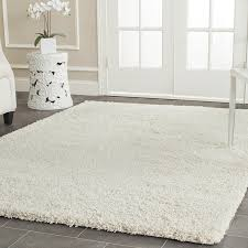 Brown Shag Area Rug by Living Room Shag Area Rugs Design With White Rug Design And Brown