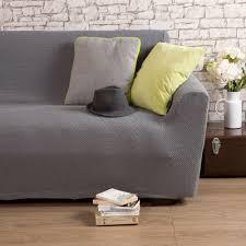 housse extensible pour canapé housse de canapé 2 places bi extensible gris