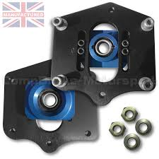 porsche boxster top porsche boxster adjustable front suspension top mount blue