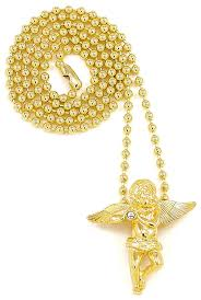 gold new necklace images Angel necklace s new small size gold color with 27 jpg