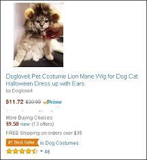 Dog Halloween Costume Lion Mane Dogloveit Pet Costume Lion Mane Wig Dog Cat Halloween Dress