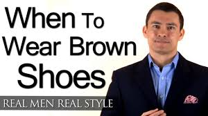 when can a man wear brown shoes 3 factors to help you determine