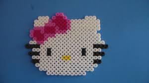 hello kitty melty beads craft u0026 activity kit youtube