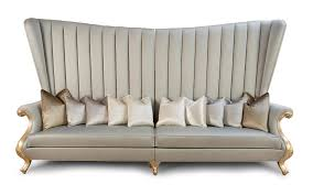 High Back Settee With Arms High Back Sectional Sofas It Is Better To Opt For Leather Or Fabric
