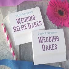 personalised pop up wedding ice breakers activity by paperbuzz