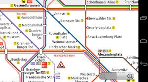 Berlin Metro Map by Berlin Subway Map Android Apps On Google Play