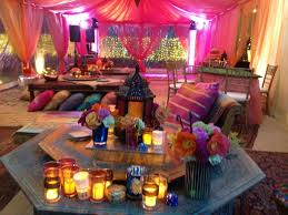 interior design middle eastern themed party decorations popular
