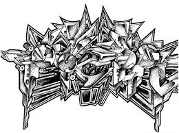 the best graffiti on the world class 3d sketches in black and