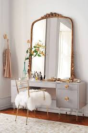 table glamorous french chateau white dressing table linen set with