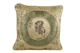 amazon com croscill iris fashion pillow 20 inch by 20 inch