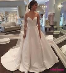 wedding dresses for women wedding dresses wedding gown white sweetheart satin wedding dress