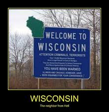 Wisconsin Meme - they re really wrong about chicago very demotivational