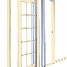 Bathroom Pocket Doors Installing A Pocket Door Frame Will Much Easier After You See This
