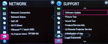 lg pf1500 minibeam pro smart video projector photos