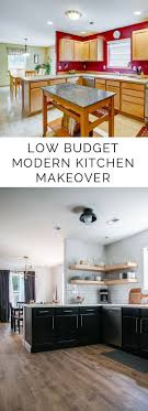 kitchen makeover ideas pictures best 25 budget kitchen makeovers ideas on cheap