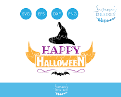 free svg file happy halloween svg halloween svg witch hat svg