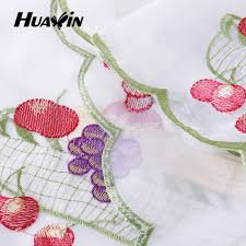 beautiful embroidery design voile kitchen curtain for sale view beautiful embroidery design voile kitchen curtain for sale