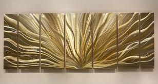 Wall Art Designs Metal Wall Art Decor Gold And Silver Modern