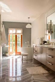 salle de bain luxe salle de bain grise et bois marbre deco luxe