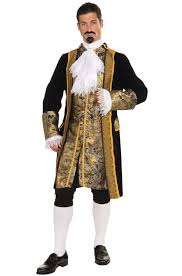 colonial halloween costume noble colonial man costume purecostumes com