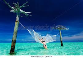 hammock over water stock photos u0026 hammock over water stock images