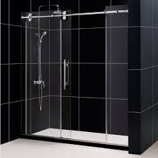 elegant frameless sliding glass shower doors u2014 home ideas collection