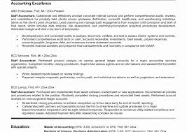 exle of accountant resume beautiful accountant resume sle canada pictures inspiration