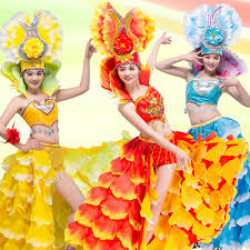carnival brazil costumes spain brazil carnival stage prom singer costume fashion set