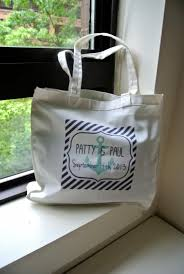 nautical gift bags personalized nautical wedding tote bags wedding welcome