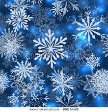 seamless snowflake patterns fully editable eps stock vector