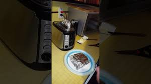 Can You Put Aluminum Foil In Toaster Oven Grilled Cheese In The Toaster Youtube