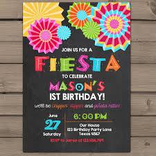 design fiesta 1st birthday invitations fiesta birthday