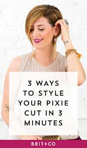 save this beauty tutorial to learn how to style your short pixie