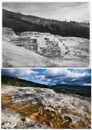 yellowstone national park thanksgiving photographer recreated historic yellowstone shots almost 150 years