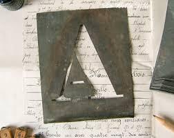 letter m stencil etsy