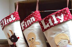 gift you baby customised christmas stockings on first christmas