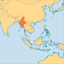 Irrawaddy River Map Myanmar Operation World