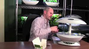 aerogarden planting your indoor herb garden youtube