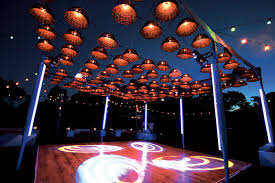 Outdoor Lighting Effects Levy Lighting Nyc Engineered An Outdoor Floor For A