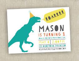 baby shower invitations attractive dinosaur birthday invitations
