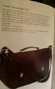 vintage coach leather musette carrier bag messenger briefcase