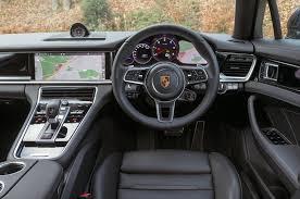 porsche hatchback interior porsche panamera review 2018 autocar
