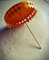 How To Make Paper Umbrellas - diy paper umbrella 5 steps with pictures