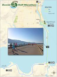 Scenic Route Map by Scenic Half Marathon World U0027s Marathons