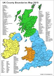 county map free editable uk county map