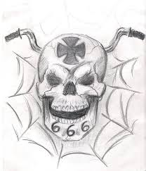 joined skull tattoo sketch in 2017 real photo pictures images