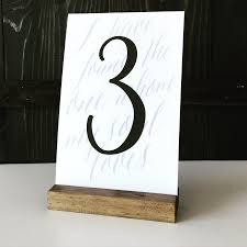 wedding table number holders table number holder wood sign holder menu holder wood table