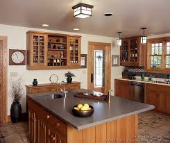 arts and crafts pendant lighting arts crafts cabinets kitchen cabinetry finishes and design for
