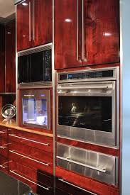tiger maple wood kitchen cabinets mullet cabinet contemporary tiger maple kitchen